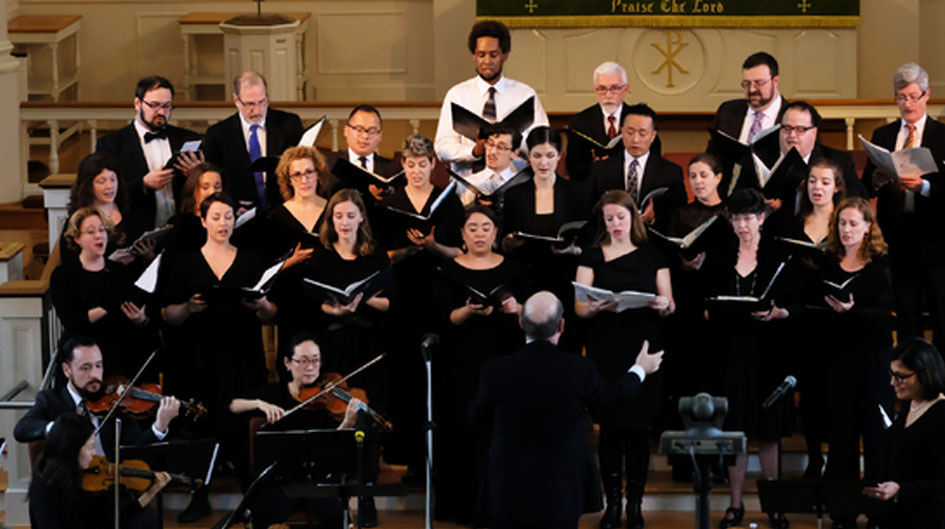 choral concerts in washington